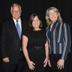 Honorees William Montague and Kelly Wittich with Mary Ann Remke of United Way Credit: Paula Norton