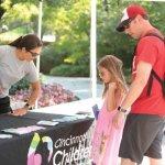 The Cincinnati Children's booth