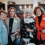 Jackie Mack, Alice Fegelman, Eileen Chalfie and Karen Abel