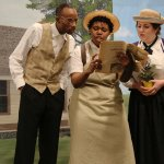 """A scene from The Children's Theatre's """"Young Abe Lincoln"""""""