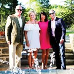 Mike McGraw and Mary McGraw, Kim Conway, Kelly Conway, Stepping Stones board member