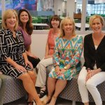 Committee members: Kelley Carrier; Karen McHale, chair; Alyson Poling; Gail Myers; Susan Schiller, BHS executive director; Megan McCuen; and Katie Coughlin. Not pictured: Tracey Griggs, Erika Judd, Beth Kasson, Mary Alice Koch, Lisa Kuhn, Julie Ross and Lynne Whang