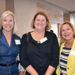 Linda Gallagher, Suzanne Burke and Pam McKie