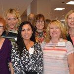 PsychPros representatives: Holly Dorna, Brooke Olson, Sa Sithideth, Kristin O'Brien, Nancy Myers and Cheryl Rapier