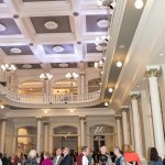 The Music Hall foyer.