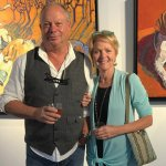 Jens Rosenkrantz and Kay Hurley, artists