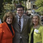 Karen Abel and Lighthouse president/CEO Paul Haffner and Cynthia Mulhausser