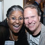 SCPA artistic director Angela Powell Walker and SCPA Fund board member Brett Stover