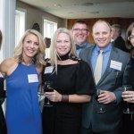 SCPA Fund board chair Michelle Setzer, PTSO president Breta Cooper, Holly Brians Ragusa, Kevin Carlson, Damon Ragusa and Melissa Carlson