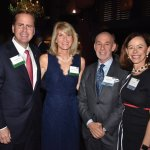 Lars and Susan Anderson and Steve and Julie Shifman, Centennial Society co-chairs