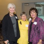 Carol Striker, Julie Cohen and honoree Sandy Kaltman