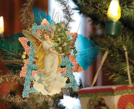 Antique angel ornament from Taft Museum of Art