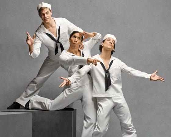 """""""Fancy Free,"""" Cincinnati Ballet"""
