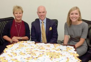 Horan Associates with 1,200 completed #MyWishForYou cards