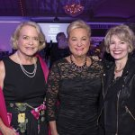 Co-chair Anne Zaring, Kay Geiger of event honoree PNC, and co-chair Cathy Crain