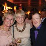 Honoree Mary McGraw, Janet and Matt Cavanuagh
