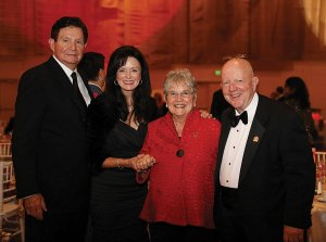 Dr. Frank Noyes, JoAnne Noyes, Carolyn Wright and Dr. Creighton Wright