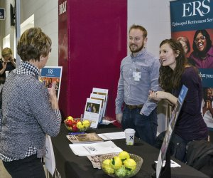 Forty exhibitors from community organizations, including the Wellbeing Team from ERS, were at the conference.