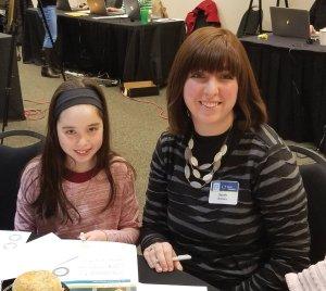 Sarah Brotsky and daughter