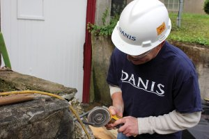Danis Construction at a previous Repair Affair