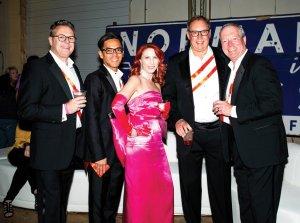 Brian L. Tiffany, John Fowler, Amy Goodwin, Peter Laffoon and Jerry Ewers