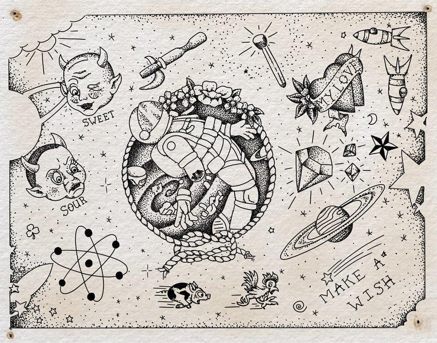 "0bb10751c Flash sheet, ""Kaleidoscope,"" by Steven Mast, inspired by the Ray Bradbury"
