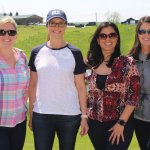 Winning team, Colliers International: Lacy Starling, Sloane Nichols, Tammy Riddle and Erin Casey