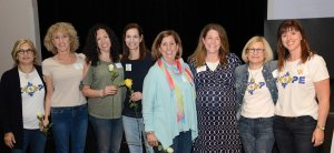 Suzi Brant, Bonnie Ullner, Brett Stern, Miriam Peri, Anita Schneider, Lindsey Wade, Judi Roth and Sarah Wise