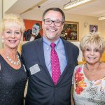 Lori Carroll-Mullarkey, Executive Director Nick Nissley and Joyce Counts