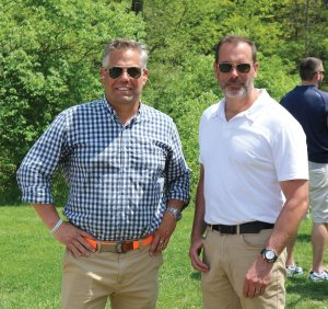 Co-chairs Brian Folke and Peter Borchers