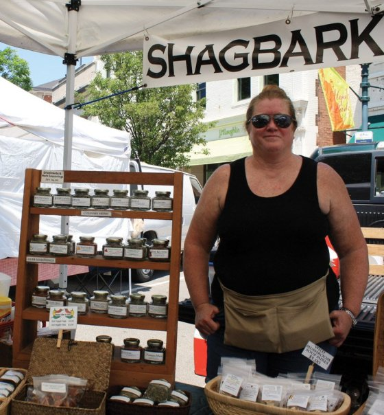 Hyde Park Farmers' Market - From the rolling foothills of Appalachia, the folks at Shagbark Farm bring to market their heritage of culinary and medicinal herbs, wild mushrooms, red raspberries and other foraged wild edibles, along with their signature Shagbark Hickory Syrup.