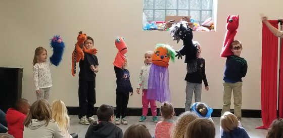 For kids, one of the highlights of the opening weekend of the Madcap Education Center was a chance to get hands-on with Madcap puppets.