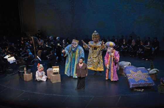 """A scene from """"Amahl and the Night Visitors"""""""