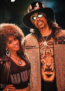 Patti and Bootsy Collins