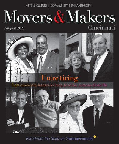 Movers & Makers August 2021 cover