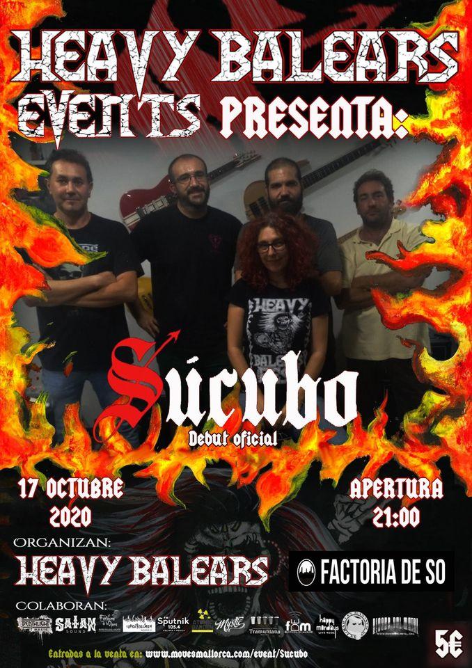 Heavy Balears Events presenta: Súcubo