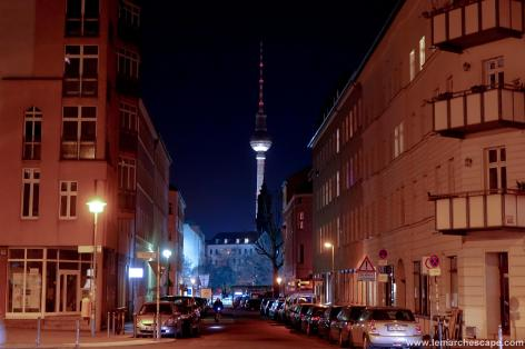 Fernsehturm, or the TV tower of Berlin