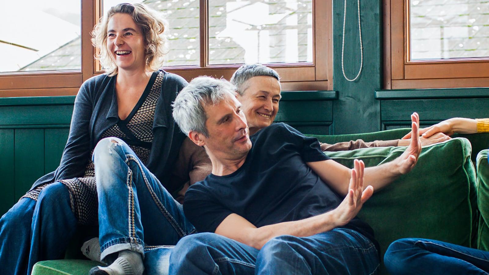 Sabine Parzer and Malcolm Manning Austria Contact Improvisation Festival 2016. Photo by Olga Berdikyan