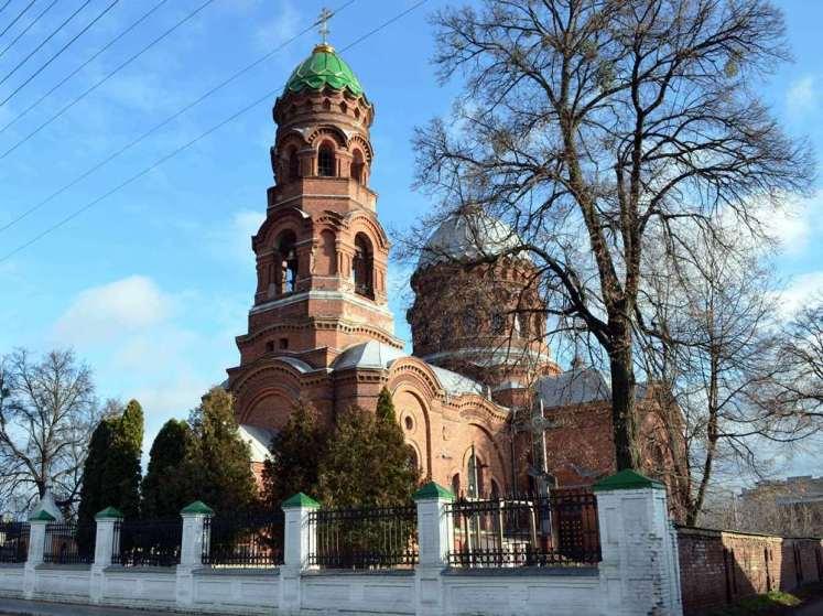 церковь тростянец