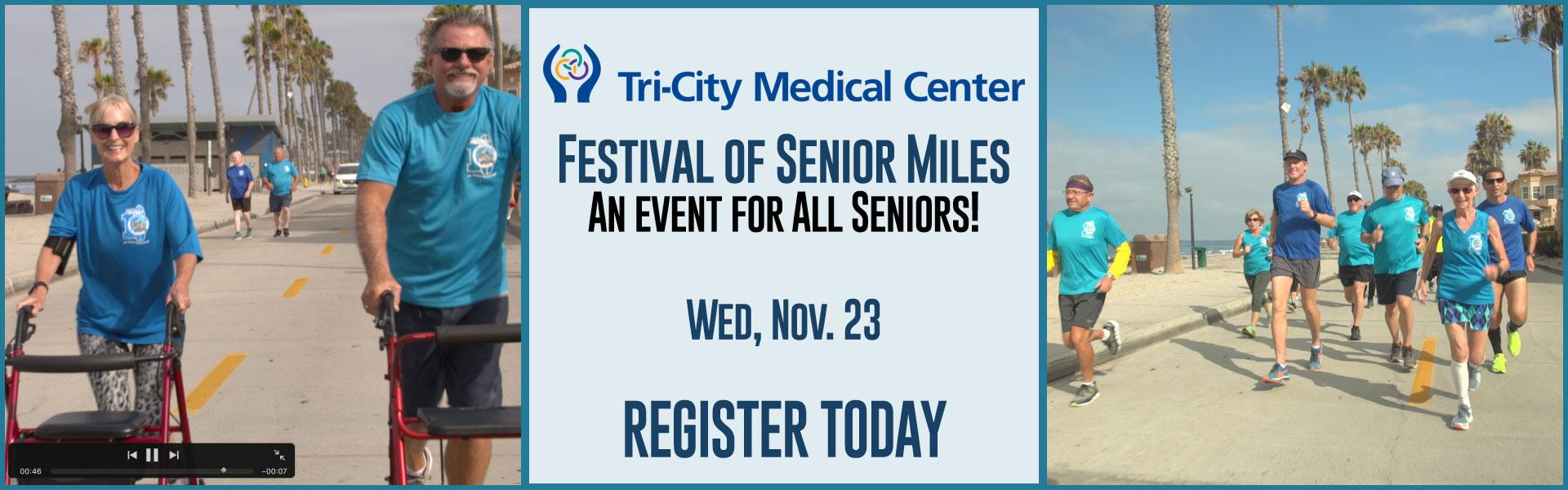 festival of senior miles