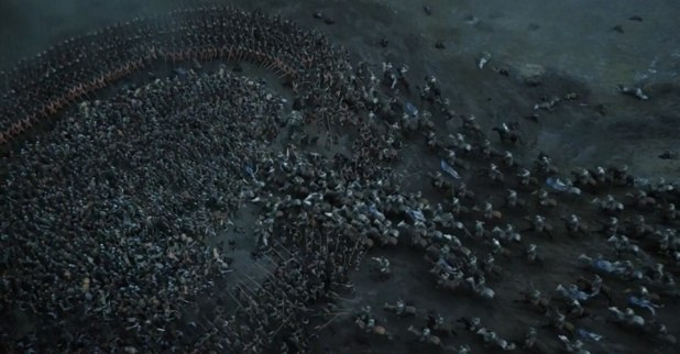 the battle of the bastards game of thrones
