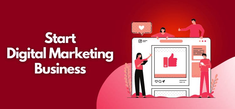 start digital marketing business