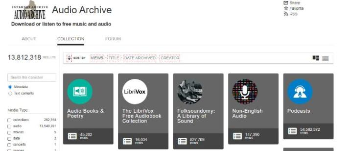 Audio Archive - Download & Streaming