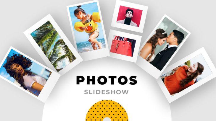 結婚式・旅行の思い出・商品のプロモーション等色々な用途で使えるアフターエフェクツテンプレート!「Slideshow Modern Photos」