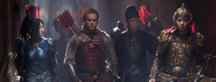 """The Great Wall"" with Tian Jing, Matt Damon, Andy Lau and Cheney Chen"