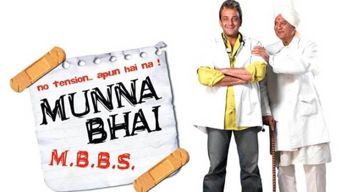 Munna Bhai MBBS - Top Hindi Movies of All Time