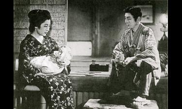 溝口健二監督「残菊物語」の一場面