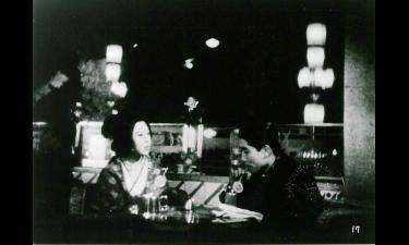 溝口健二監督「浪華悲歌」の一場面