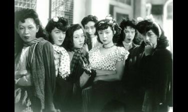 溝口健二監督「夜の女たち」の一場面