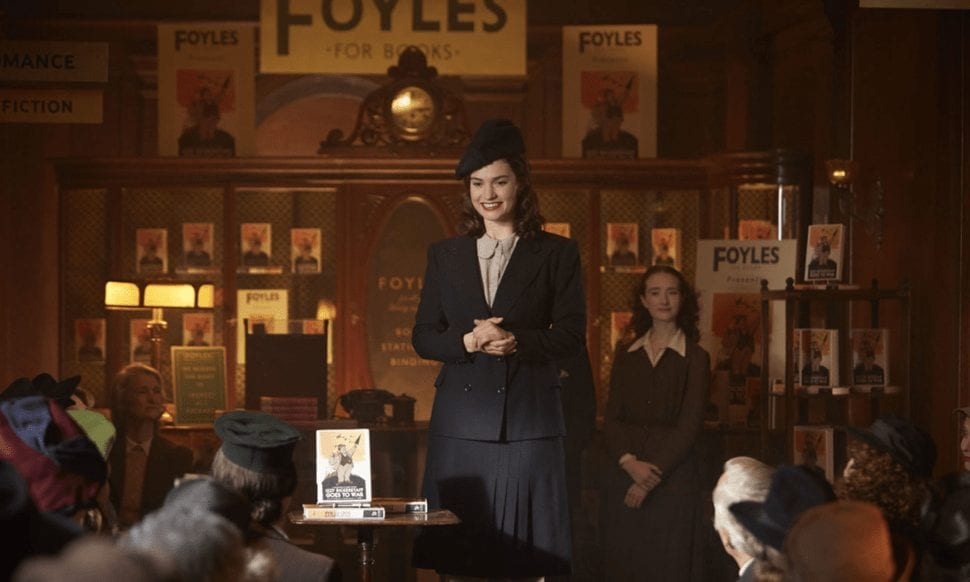 Lily James The Guernsey Literary and Potato Peel Pie Society